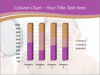 Woman Applying Cream PowerPoint Template - Slide 50