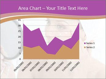 Woman Applying Cream PowerPoint Template - Slide 53
