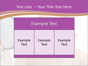 Woman Applying Cream PowerPoint Template - Slide 59