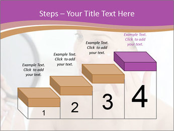 Woman Applying Cream PowerPoint Template - Slide 64