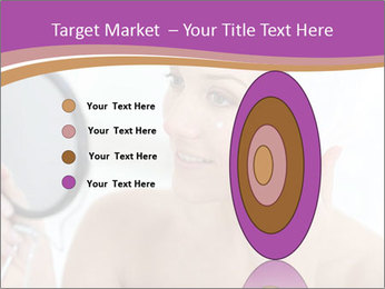 Woman Applying Cream PowerPoint Template - Slide 84