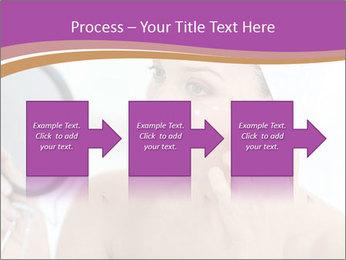 Woman Applying Cream PowerPoint Template - Slide 88