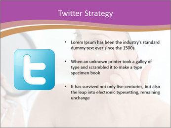 Woman Applying Cream PowerPoint Template - Slide 9