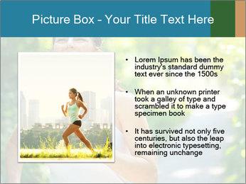 Joyful Sporty Woman PowerPoint Template - Slide 13
