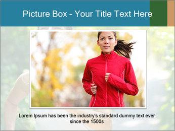Joyful Sporty Woman PowerPoint Template - Slide 15