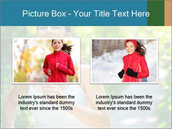 Joyful Sporty Woman PowerPoint Template - Slide 18