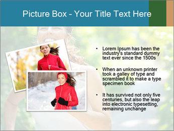 Joyful Sporty Woman PowerPoint Template - Slide 20