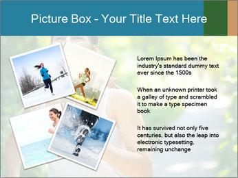 Joyful Sporty Woman PowerPoint Template - Slide 23