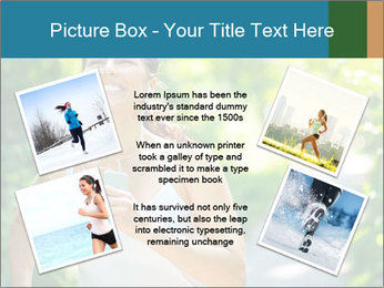 Joyful Sporty Woman PowerPoint Template - Slide 24