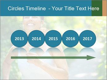 Joyful Sporty Woman PowerPoint Template - Slide 29