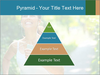 Joyful Sporty Woman PowerPoint Template - Slide 30