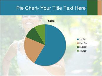 Joyful Sporty Woman PowerPoint Template - Slide 36