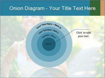 Joyful Sporty Woman PowerPoint Template - Slide 61