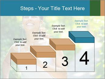 Joyful Sporty Woman PowerPoint Template - Slide 64