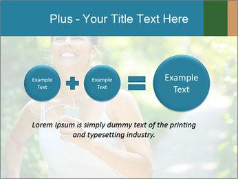 Joyful Sporty Woman PowerPoint Template - Slide 75