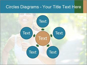 Joyful Sporty Woman PowerPoint Template - Slide 78