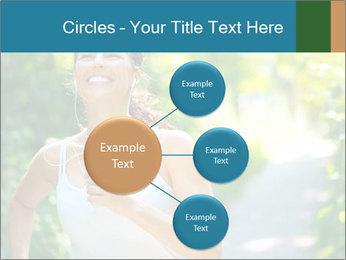 Joyful Sporty Woman PowerPoint Template - Slide 79