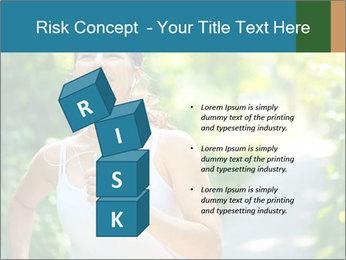 Joyful Sporty Woman PowerPoint Template - Slide 81