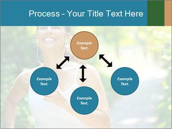 Joyful Sporty Woman PowerPoint Template - Slide 91