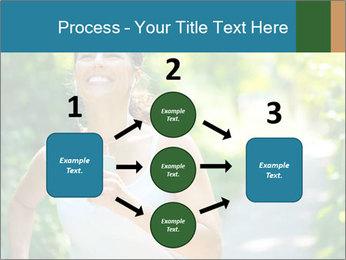 Joyful Sporty Woman PowerPoint Template - Slide 92