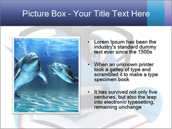 Blue Fish With Books PowerPoint Template - Slide 13