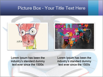 Blue Fish With Books PowerPoint Template - Slide 18