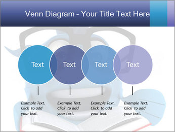 Blue Fish With Books PowerPoint Template - Slide 32