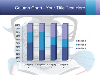 Blue Fish With Books PowerPoint Template - Slide 50