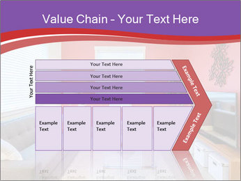 Red-Colored Livingroom PowerPoint Template - Slide 27