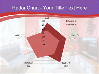 Red-Colored Livingroom PowerPoint Template - Slide 51