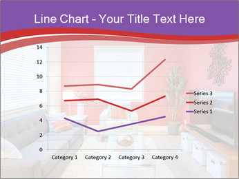 Red-Colored Livingroom PowerPoint Template - Slide 54