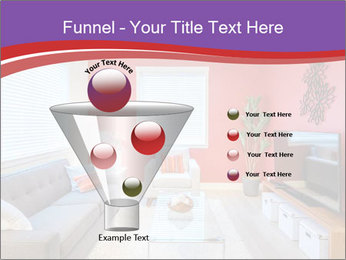 Red-Colored Livingroom PowerPoint Template - Slide 63