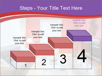 Red-Colored Livingroom PowerPoint Template - Slide 64