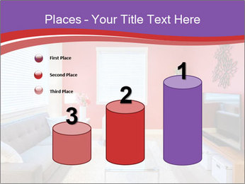Red-Colored Livingroom PowerPoint Template - Slide 65