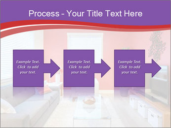 Red-Colored Livingroom PowerPoint Template - Slide 88
