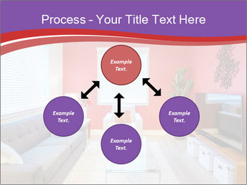 Red-Colored Livingroom PowerPoint Template - Slide 91