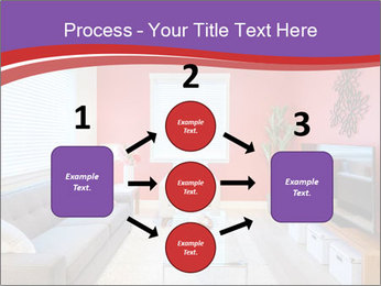 Red-Colored Livingroom PowerPoint Template - Slide 92