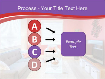 Red-Colored Livingroom PowerPoint Template - Slide 94