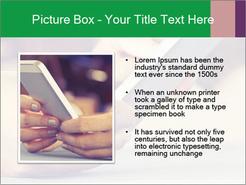 Mobile Communication PowerPoint Template - Slide 13