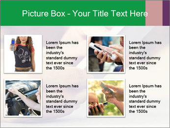 Mobile Communication PowerPoint Template - Slide 14