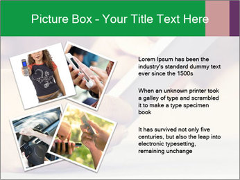 Mobile Communication PowerPoint Template - Slide 23