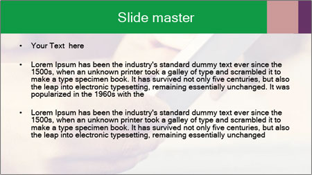Mobile Communication PowerPoint Template - Slide 2