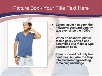 Friendly Man PowerPoint Template - Slide 13