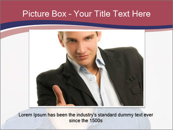 Friendly Man PowerPoint Template - Slide 16
