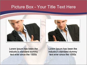 Friendly Man PowerPoint Template - Slide 18