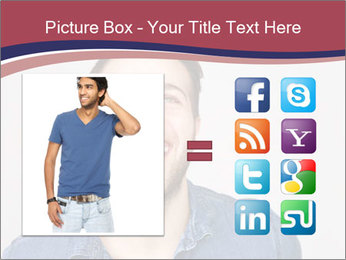 Friendly Man PowerPoint Template - Slide 21