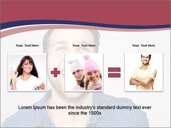 Friendly Man PowerPoint Template - Slide 22