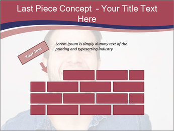 Friendly Man PowerPoint Template - Slide 46