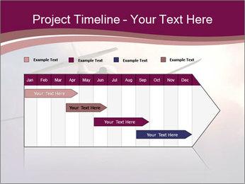 Passenger Plane In Sky PowerPoint Template - Slide 25