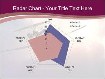Passenger Plane In Sky PowerPoint Template - Slide 51